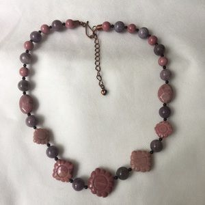Jewelry - Jay King DTR Rhodochrosite Taxco Heart Necklace